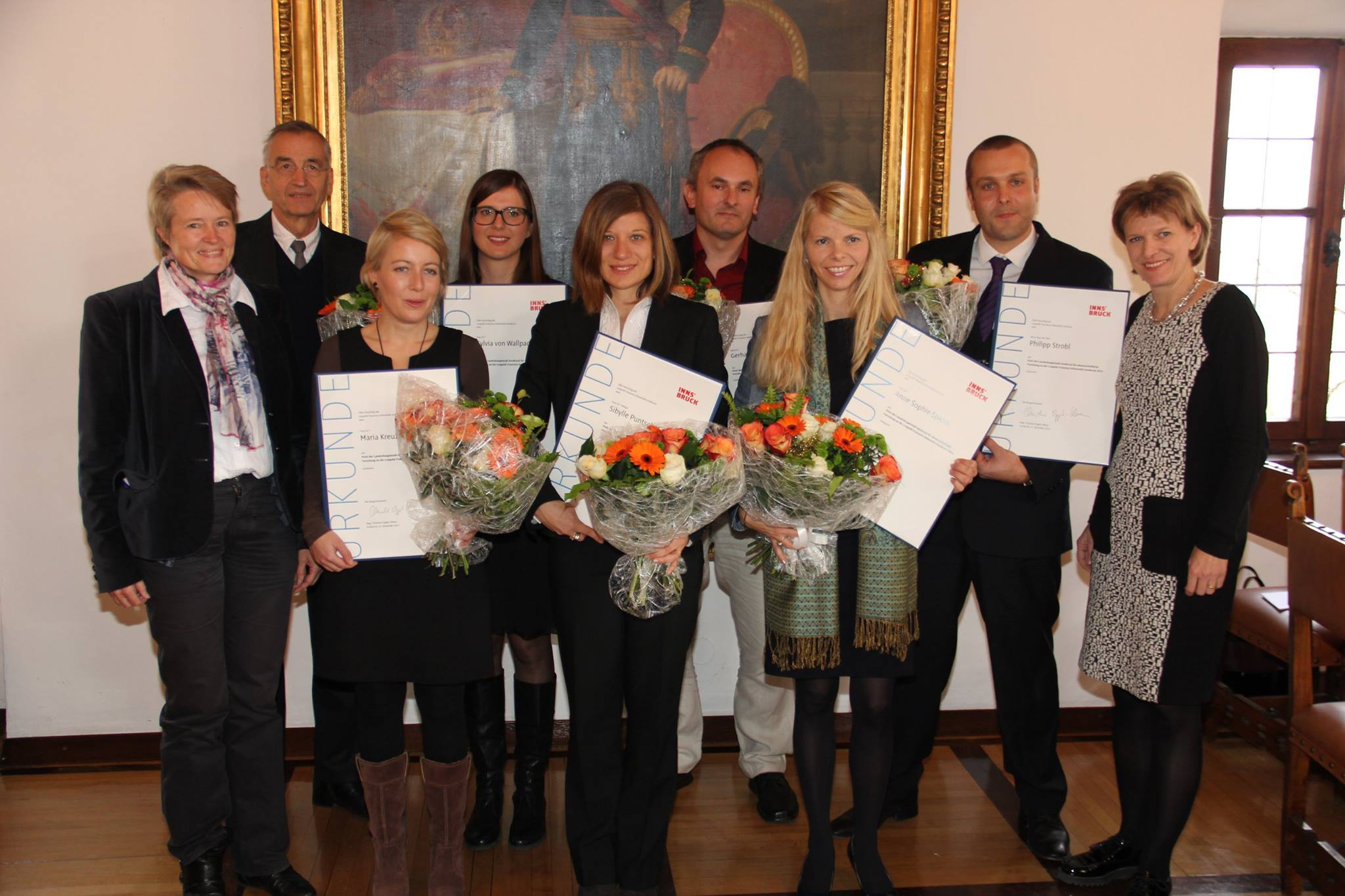 E: Science Award of the City of Innsbruck 2014